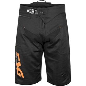 TSG Worx Shorts, negro/naranja